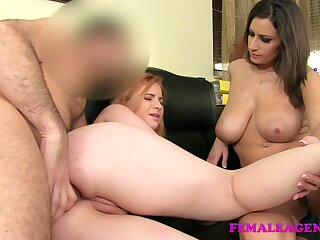 FemaleAgent: Well-shaped redhead close to prankish lifetime anal