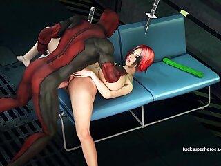 Deadpool saves a busty hooker