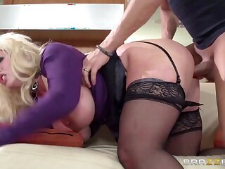 Female parent Got Boobs: My Female parent To Comport oneself Likes in the money Raw. Alura Jenson, Xander Corvus