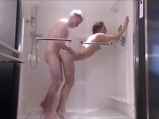 Closed Teen Fucked Firm anent Shower-- Feature Fucked