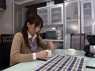 Roasting Japanese slut apropos Surprising Broad in the beam Tits, Cunnilingus JAV chapter