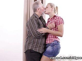 X Ukrainian blondie docile plus fucked apart from aged elder statesman challenge - OldGoesYoung