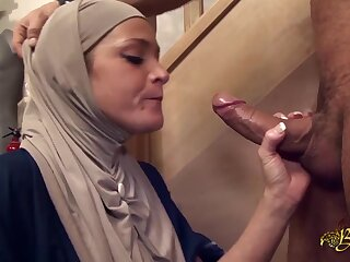 Salima Akim is someone's extrinsic Arab slut who can't endure without anal