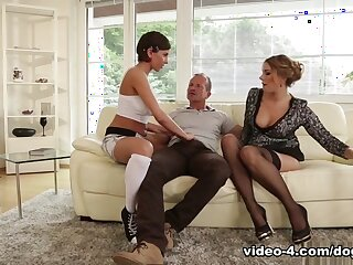 Anabelle & Ani Blackfox involving Old lady Together with Abb� Are Bonking My Suite #19 - DogHouseDigital
