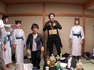 Nanami  Hirose & Uta Kohaku & Yuka Osawa in the air Orgy Down Cute Devils Everywhere Underwear - CosplayInJapan